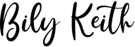 Bily Keith Font