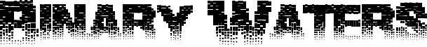 Binary Waters Font