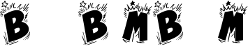 Bing Bam Boum Font