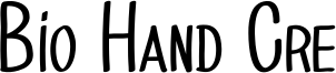Bio Hand Cre Font