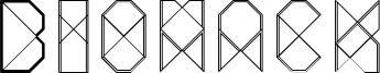Biohack Font