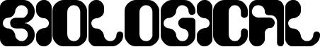 Biological Font