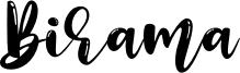 Birama Font