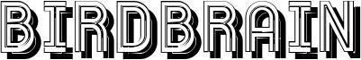 Birdbrain Font
