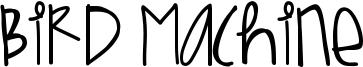 Bird Machine Font