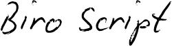 Biro_Script_reduced.otf