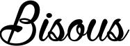 Bisous Font