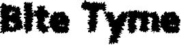 Bite Tyme Font