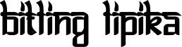 Bitlinglipika-Bold.ttf