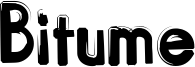 Bitume Font