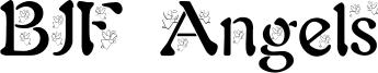 BJF Angels Font