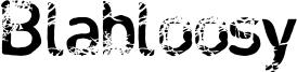 Blabloosy Font