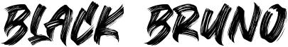 Black Bruno Font