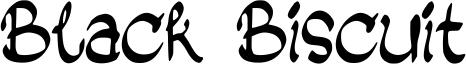 Black Biscuit Font