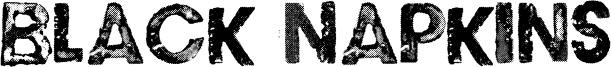 Black Napkins Font