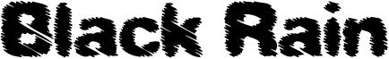 Black Rain Font