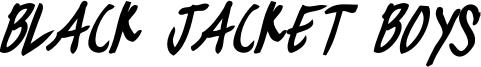 blackjacketboys-BoldItalic.otf