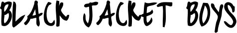 blackjacketboys-Bold.otf