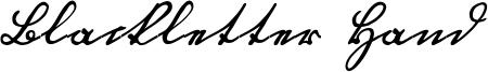 Blackletter Hand Font