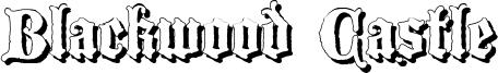 Blackwood Castle Font