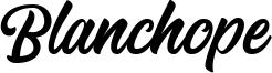 Blanchope Font
