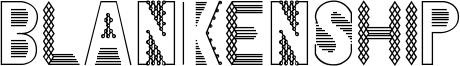 Blankenship Font