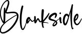 Blankside Font