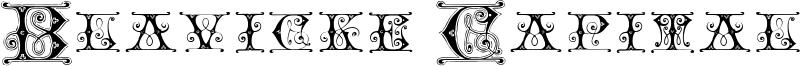 Blavicke Capitals Font