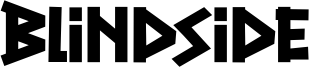 Blindside Font