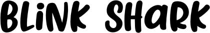 Blink Shark Font