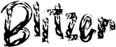 Blitzer Font