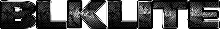 BlkLite Font