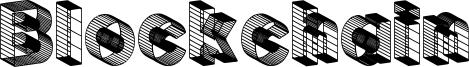 Blockchain Font