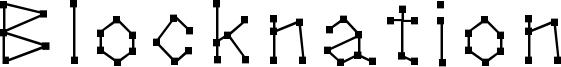 Blocknation Font