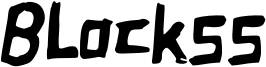 Blockss Font