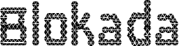 Blokada Font