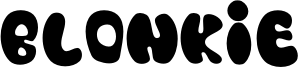 Blonkie Font