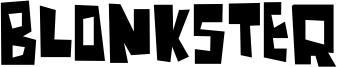 Blonkster Font
