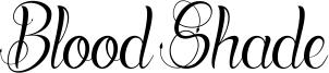 Blood Shade Font