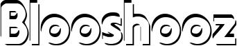 Blooshooz Font