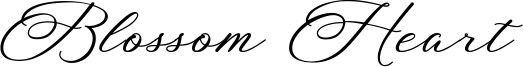 Blossom Heart Font