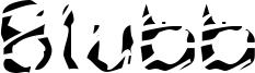 Blubb Font