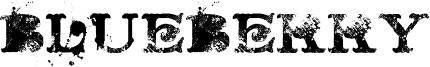 Blueberry Font