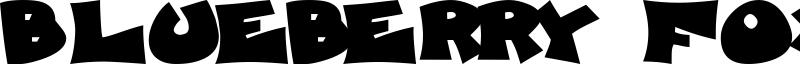 Blueberry Foxhound Font