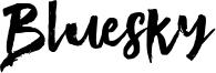Bluesky Font