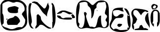 BN-Maxi Font