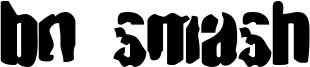 BN Smash Font