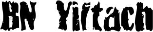 BN Yiftach Font