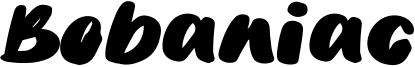Bobaniac Font