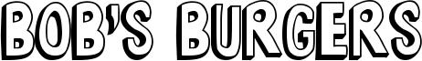 Bob's Burgers Font